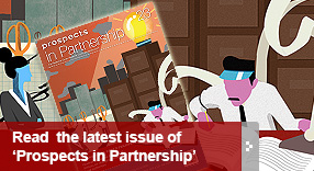 Read the latest issue of Prospects in Partnership